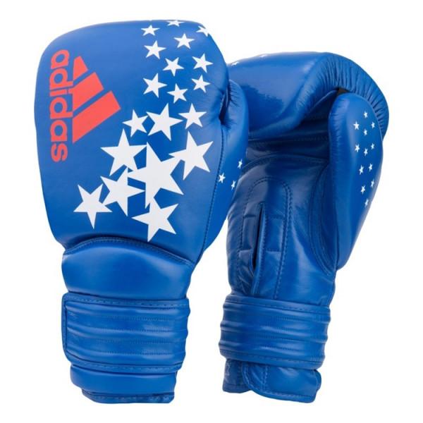 ADIDAS 專業拳擊訓練手套 - 藍 - ADPTG300