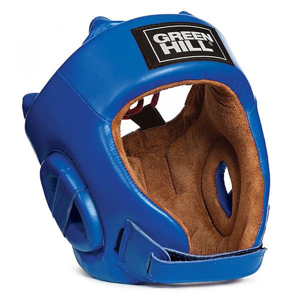 GREENHILL 專業級拳擊訓練頭盔 - 藍 - HGF-4013