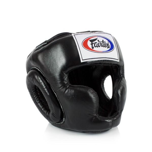 FAIRTEX  經典款專業級拳擊訓練頭盔 - 黑 - HG3