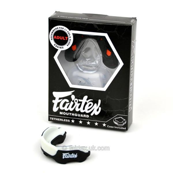 FAIRTEX 專業級訓練護齒 - 黑/橘/灰 - MG-3