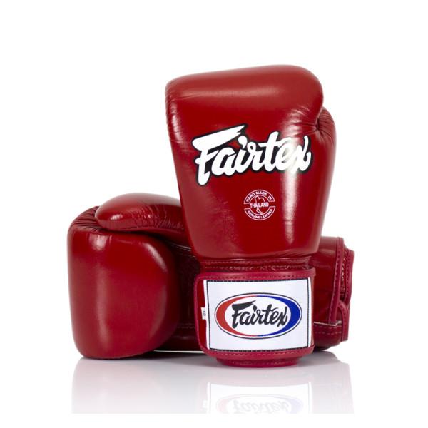 FAIRTEX  經典款真皮拳擊手套 - 紅 - BGV1