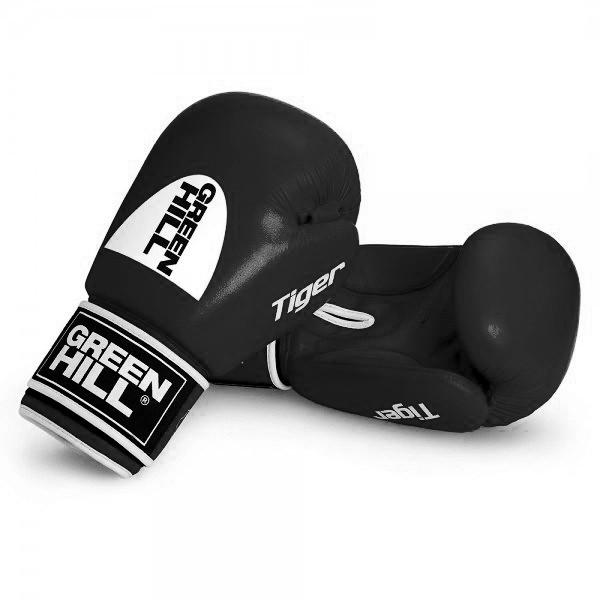 GREENHILL 老虎系列 標準款 專業拳擊訓練手套 - 黑 - BGT-2010