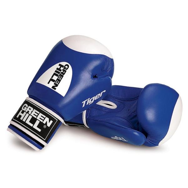 GREENHILL 老虎系列 靶心款 專業拳擊訓練手套 - 藍 - BGT-2010