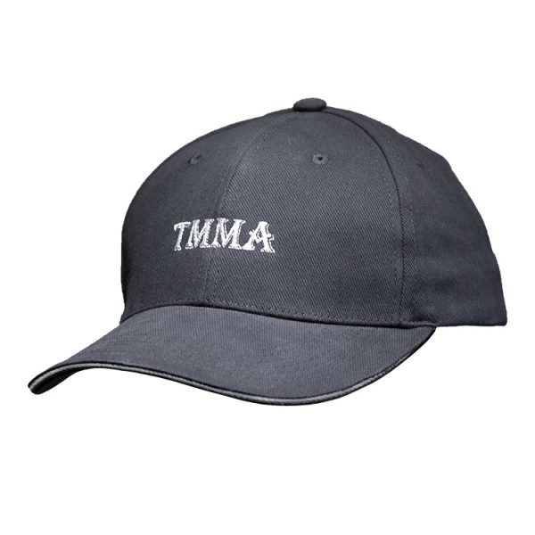 【TMMA限定】經典LOGO 專業運動休閒老帽 - 黑 - FU CAP TMMA BK