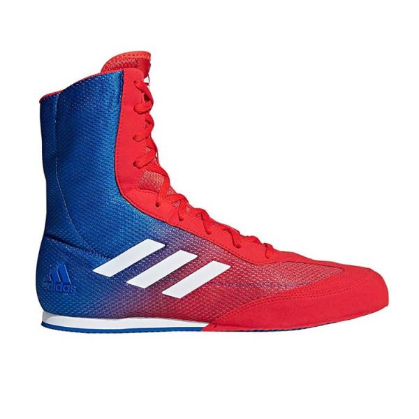 ADIDAS Box Hog系列拳擊鞋 - 紅/白/藍 - DA9896