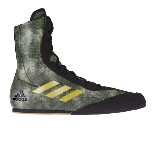 ADIDAS Box Hog系列拳擊鞋 - 綠/金 - DA9897