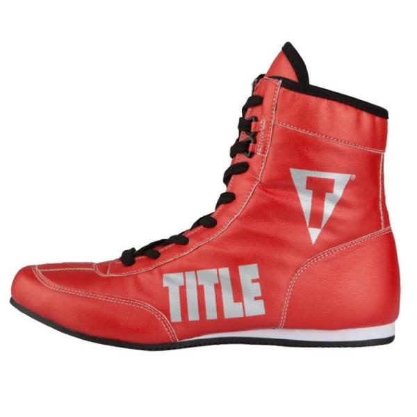 TITLE 金碧輝煌系列拳擊鞋 - 紅 - TBS 15