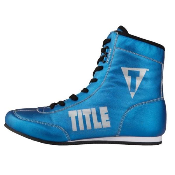TITLE 金碧輝煌系列拳擊鞋 - 藍 - TBS 15