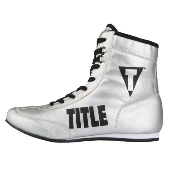 TITLE 金碧輝煌系列拳擊鞋 - 銀 - TBS 15