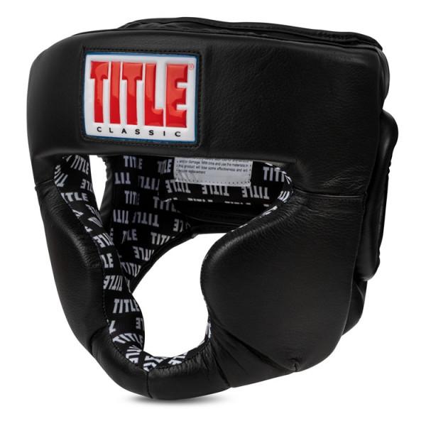 TITLE 經典訓練頭盔 - 黑 - CPHGF2