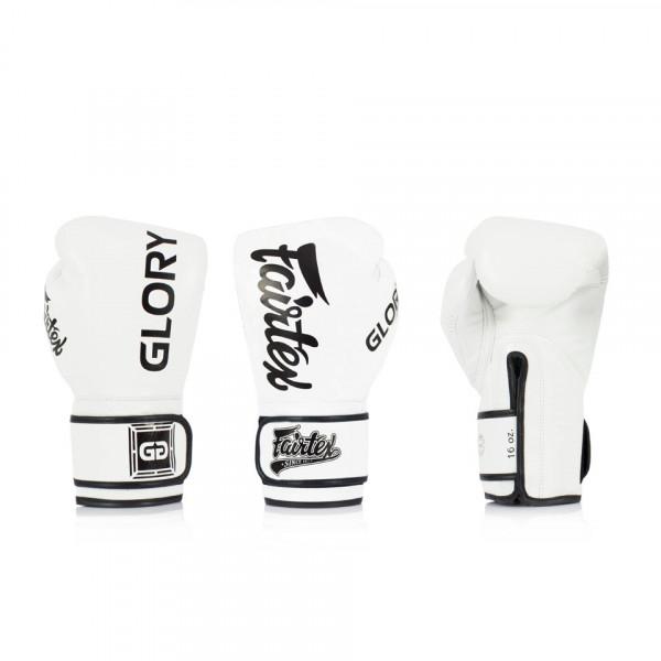 Fairtex X Glory Kickboxing 限量聯名款 - 白 - BGVG1