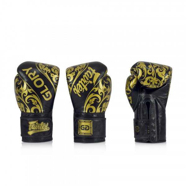 Fairtex X Glory Kickboxing 限量聯名款 - 黑 - BGVG2
