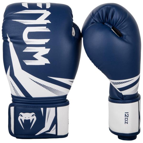 VENUM 專業拳擊手套 挑戰者系列3.0 - 海軍藍/白 - EU-03525-414