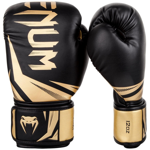 VENUM 專業拳擊手套 挑戰者系列3.0 - 黑/金 - EU-03525-126