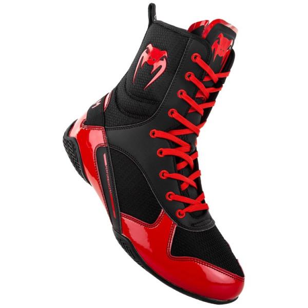 VENUM ELITE 菁英戰士系列 拳擊鞋 - 黑/紅 - EU-03681-100