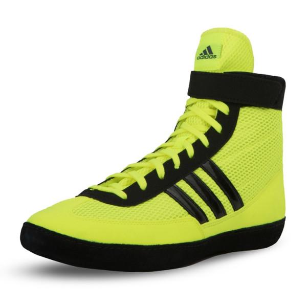 ADIDAS 拳擊鞋 - 黃/黑 - AXBS4