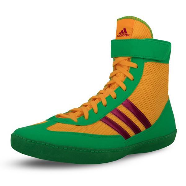 ADIDAS 拳擊鞋 - 橘/綠 - AXBS4