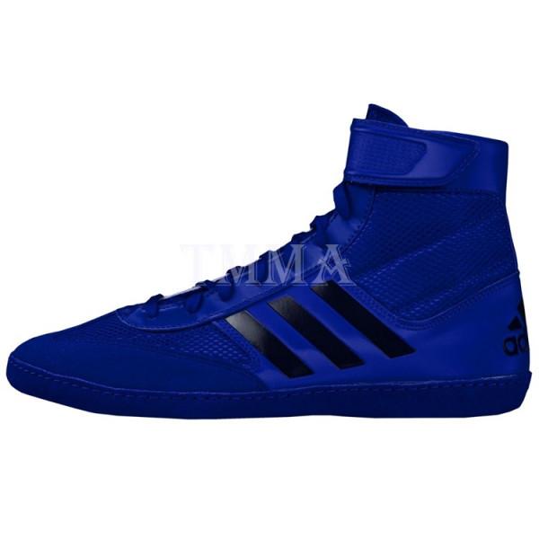 ADIDAS Combat Speed 5系列拳擊鞋 - 藍 - AXBS2