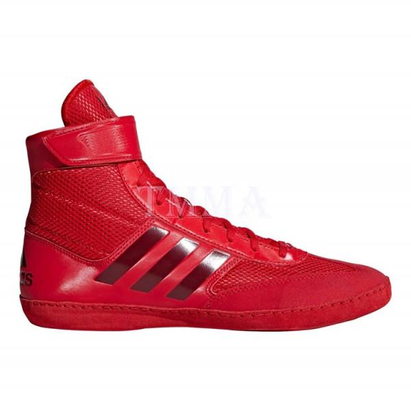 ADIDAS Combat Speed 5系列拳擊鞋 - 紅 - AXBS2