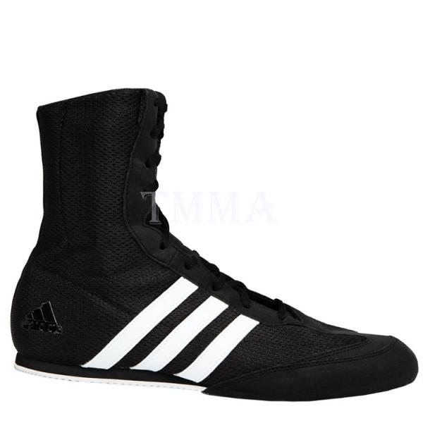 ADIDAS Box Hog 2系列拳擊鞋 - 黑/白 - BA7928