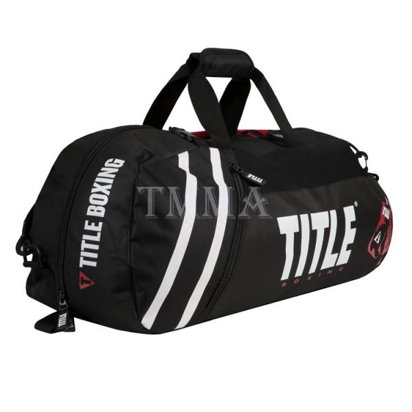 TITLE 運動旅行袋/護具袋 世界冠軍系列2.0 - 黑/黑 - TBAG25