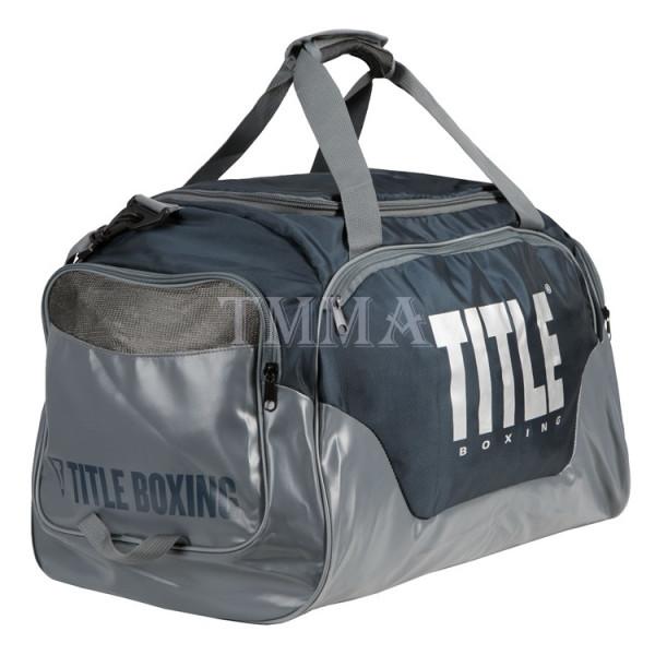 TITLE 運動旅行袋/護具袋 勇士系列 - 海軍灰 - TBAG26