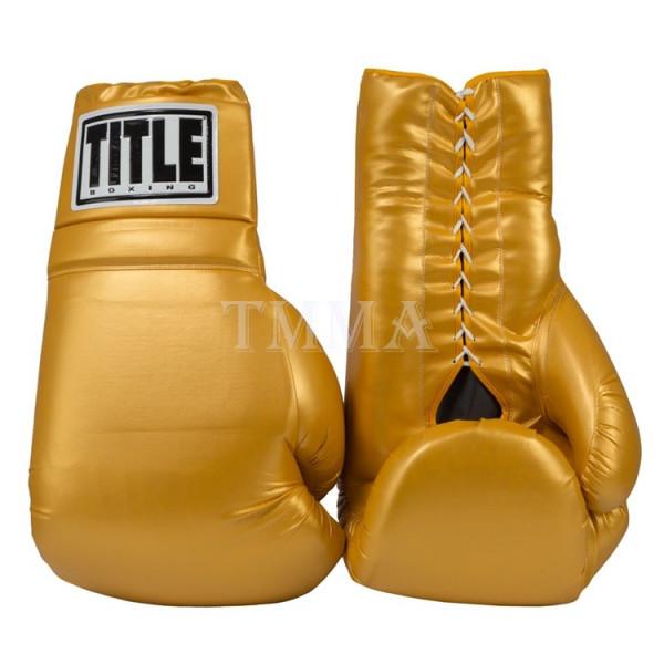 TITLE 超巨型拳擊手套吊飾 - 金 - JBG 1