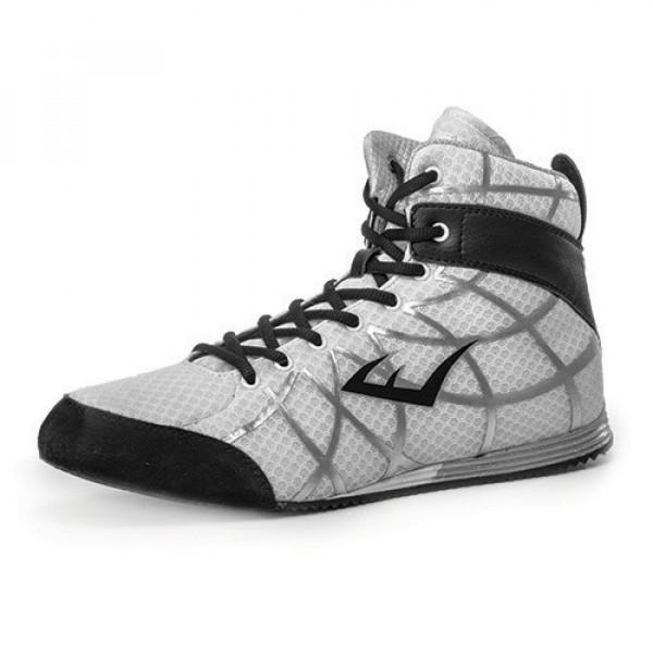 EVERLAST GRID網格系列 專業低筒拳擊鞋 - 白 - P00000082