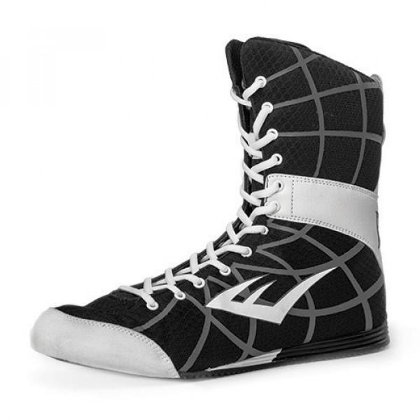 EVERLAST GRID網格系列 專業高筒拳擊鞋 - 黑 - P00000078