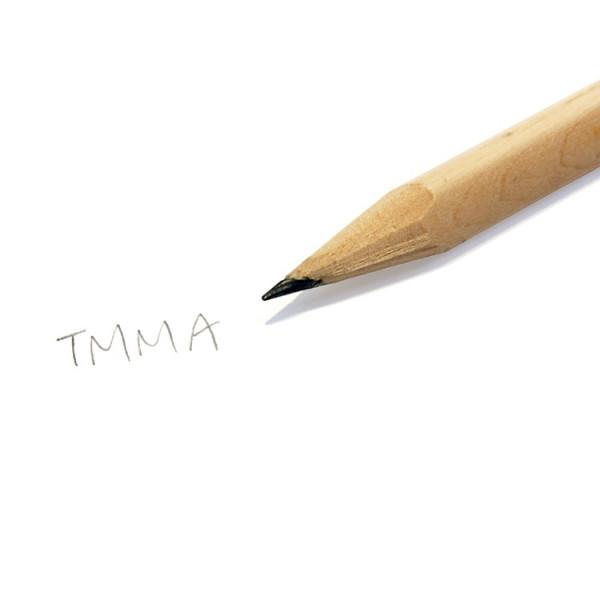 【TMMA限定】經典LOGO 大三角原木鉛筆 - T7B