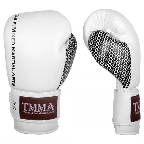 【TMMA限定】專業拳擊手套 - 白/黑 - TM BG TMMA SPIRIT WH/BK