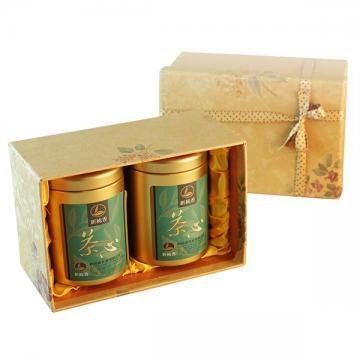 阿里山茶-超級茶王(50g入罐)手工茶點禮盒
