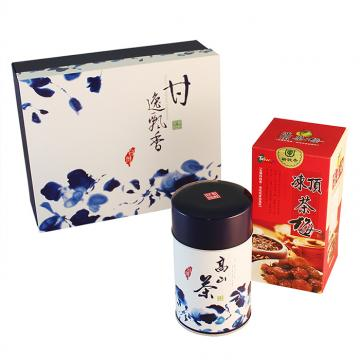 高山茶(150g)手工茶點禮盒