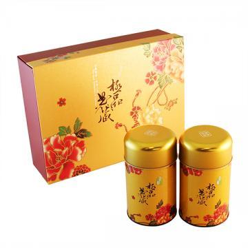 台灣綠茶及東方美人茶75g平裝禮盒