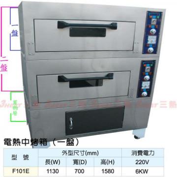 =F101E=電熱中烤箱(一盤)