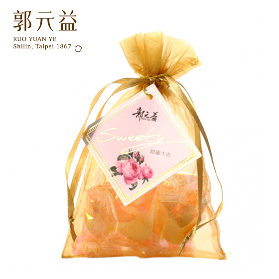 婚禮小物【郭元益】甜蜜大吉(12袋/組)(限台灣)