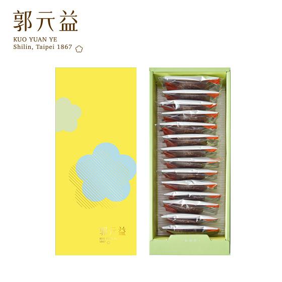 端午【郭元益】朱古力厚燒(1件2盒)(限台灣)