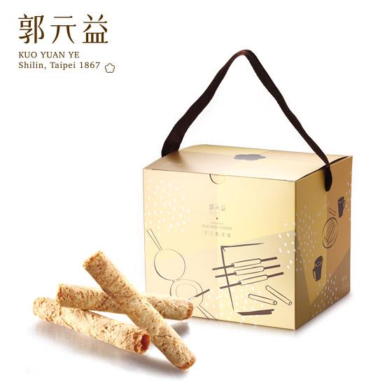 端午【郭元益】元益醇蛋捲(盒裝)(限台灣)