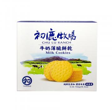 初鹿鮮乳薄餅禮盒(3入裝) 奶蛋素─初鹿牧場
