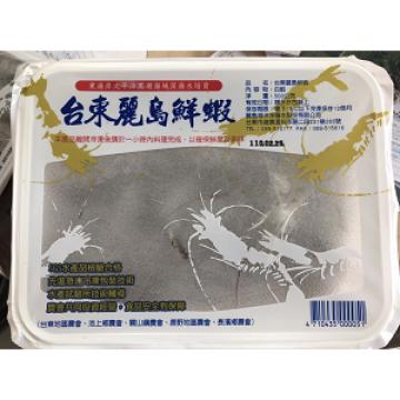 台東麗島鮮蝦500g(十盒)【台東麗島水產】
