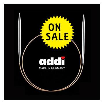 ADDI-60cm金蔥塑膠輪針12mm