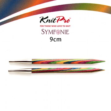 KnitPro-彩木可換頭輪針 (長9cm)