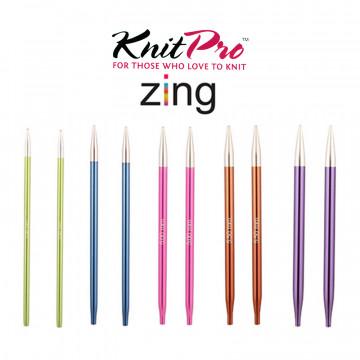 KnitPro 超輕鋁製可換頭輪針(不含線)