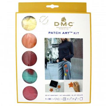 DMC羊毛氈材料包-愛心、星星造型