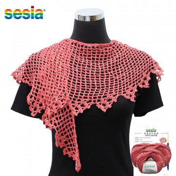 夏紗DIY材料包-新雅亮片披肩 (教學費$500)