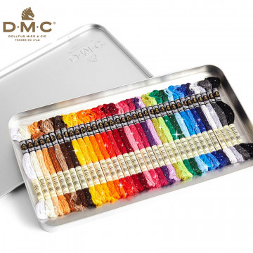 進口DMC-星辰35色繡線禮盒
