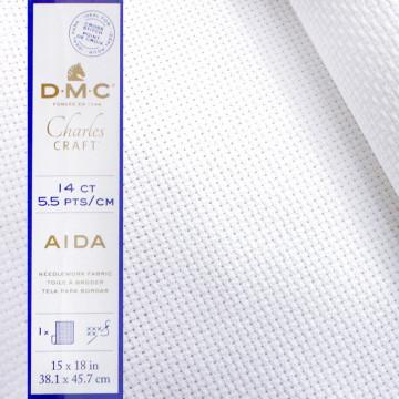 美國進口DMC-十字繡14格棉布