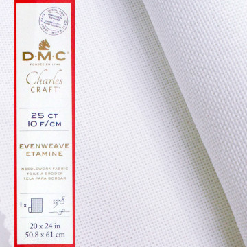 法國進口DMC-十字繡25格棉布
