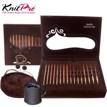 KnitPro-下午茶可換頭輪針禮盒組