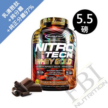 MuscleTech 金牌 NITRO-TECH 肌肉科技氮泵乳清蛋白 5.51磅